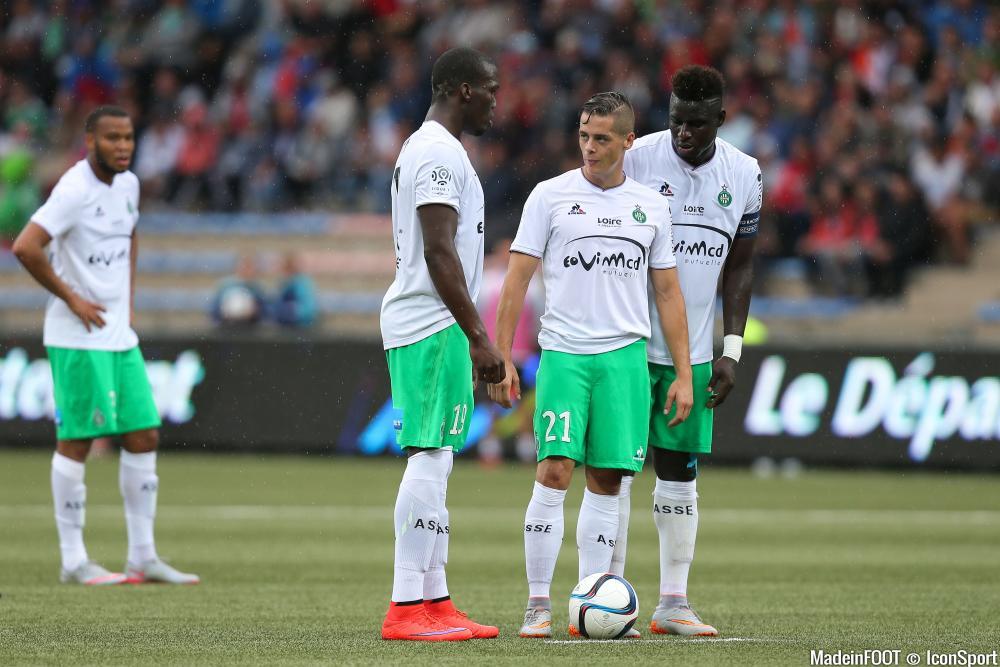 Florentin Pogba (ASSE) va retrouver le groupe des Verts ce mercredi.