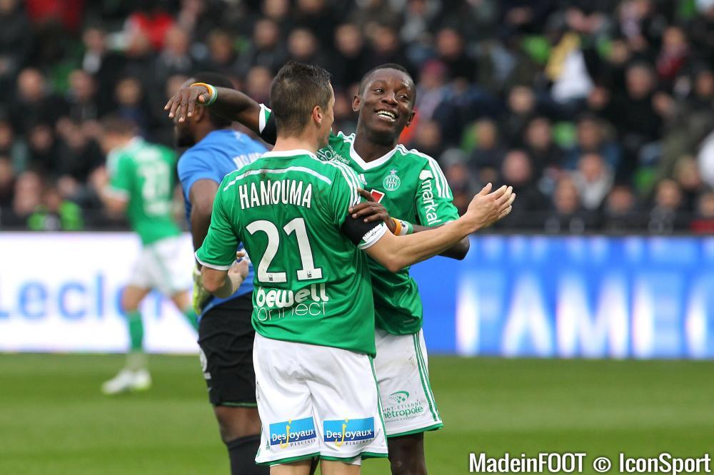 Romain Hamouma (ASSE) va prolonger son contrat chez les Verts et pourrait y retrouver Max-Alain Gradel, pas encore parti.