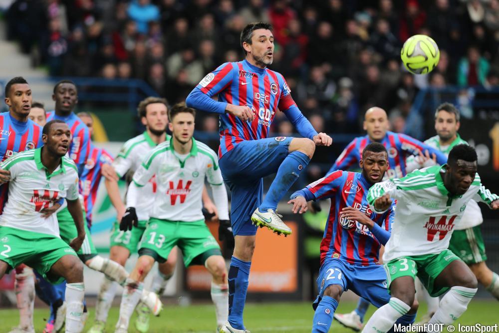 L'album photo du match entre Caen et Saint-Etienne.