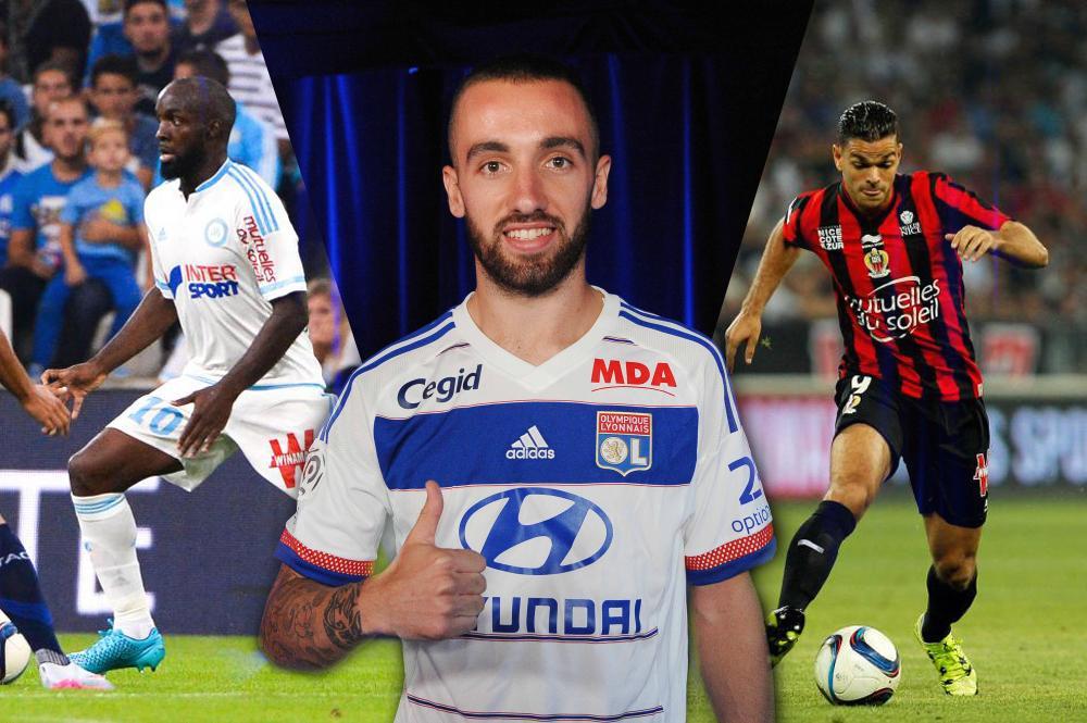 L'équipe-type des recrues de la Ligue 1.