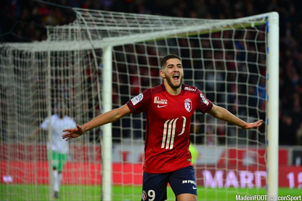 D'une reprise de volée somptueuse, Yassine Benzia a offert la victoire au LOSC, mercredi, face à l'ASSE (1-0)