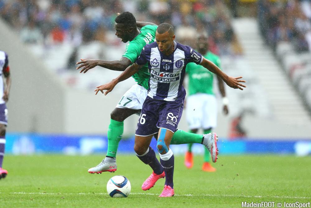 Jonathan Bamba (ASSE) veut s'imposer chez les Verts.