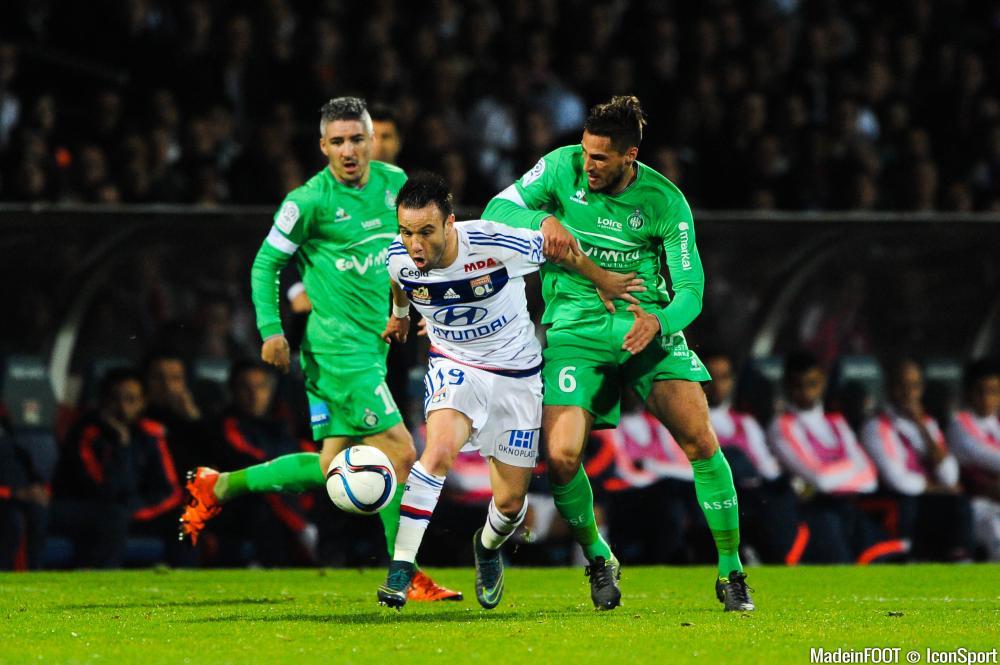 Mathieu Valbuena sur les tablettes des Verts.