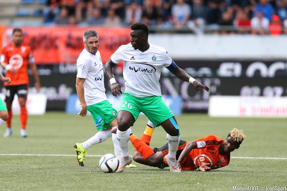 Moustapha Bayal Sall (ASSE) souhaitait quitter les Verts, cet été.