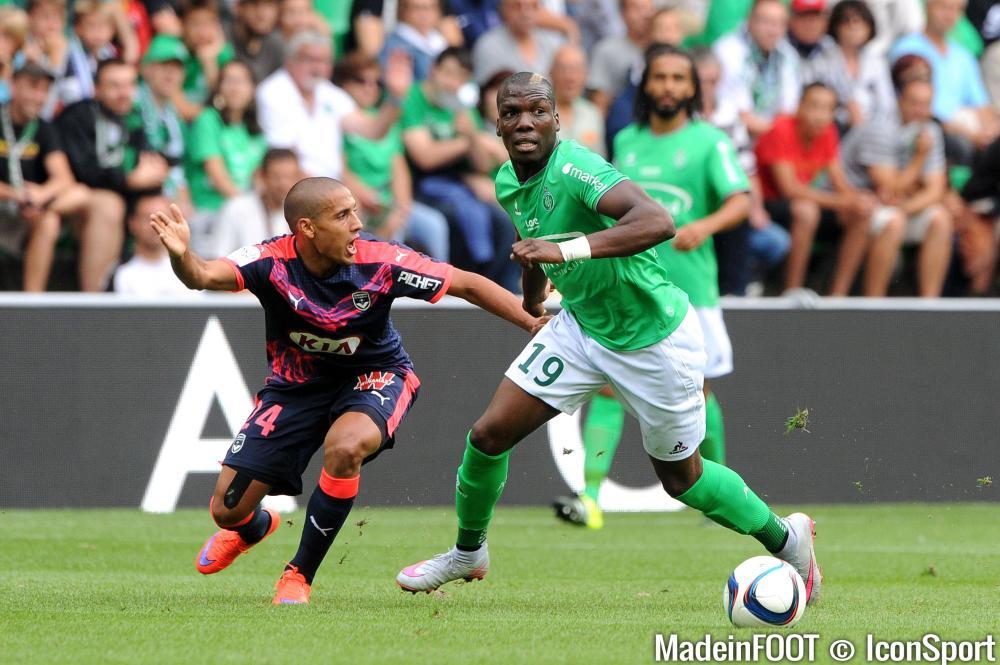 Florentin Pogba est sous contrat avec l'ASSE jusqu'en 2018.
