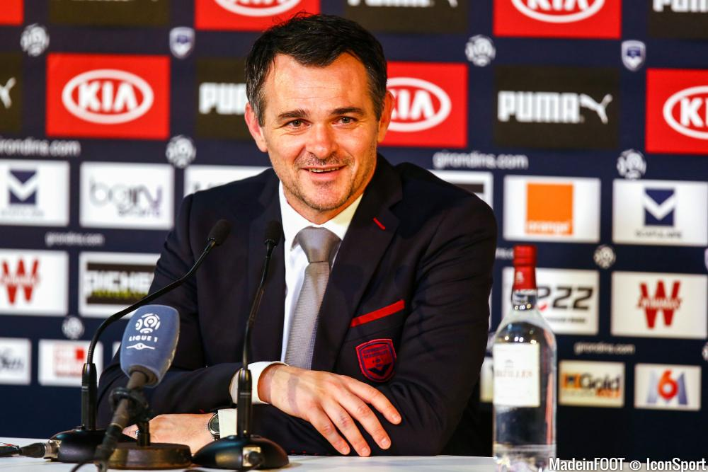 Willy Sagnol, entraîneur de Bordeaux de 2014 à 2016