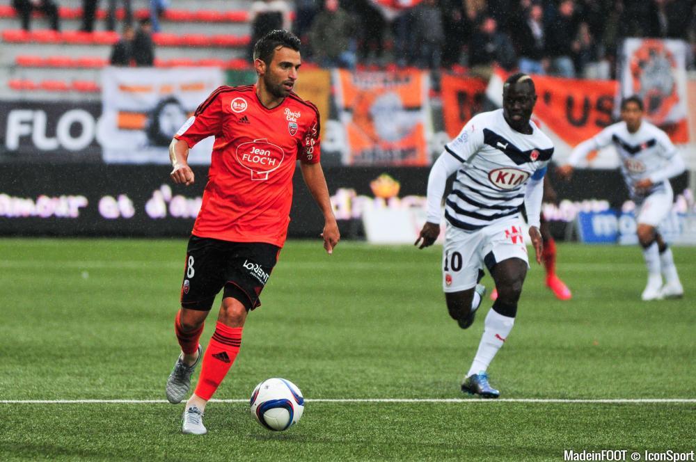 Yann Jouffre, en fin de contra à Lorient, intéresserait l'ASSE.