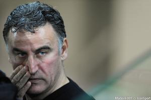 Christophe Galtier (ASSE) attend les retours de Robert Beric et Romain Hamouma.