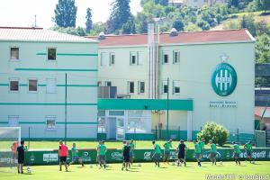 Le centre d'entraînement de l'Étrat, lieu de vie de l'AS Saint-Etienne.