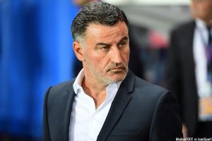 """Christophe Galtier a vu ses joueurs se montrer """"inoffensifs"""", mercredi, à Auxerre"""