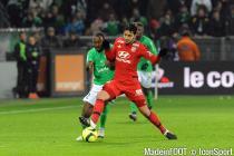 Clement GRENIER / Kevin THEOPHILE CATHERINE  - 17.01.2016 - Saint Etienne / Lyon - 21eme journee de  Ligue 1