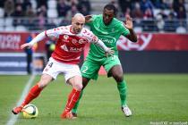 Jaba KANKAVA / Kevin THEOPHILE CATHERINE - 24.01.2016 - Reims / Saint Etienne - 22eme journee Ligue 1