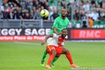 Kevin THEOPHILE CATHERINE / Vagner LOVE - 14.02.2016 - Saint Etienne / Monaco - 26eme journee de Ligue 1