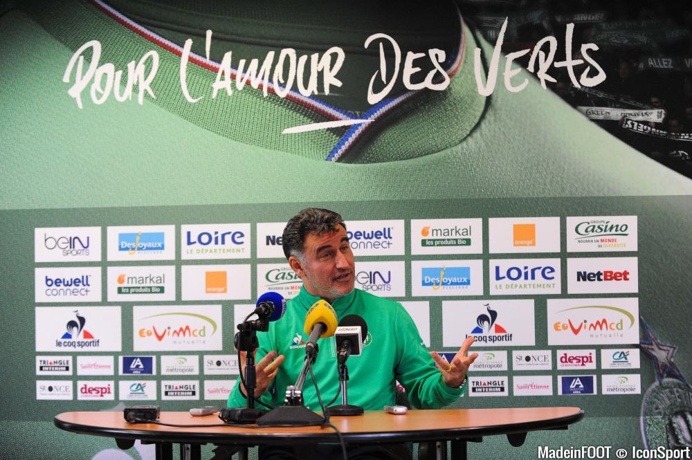 Christophe Galtier et l'ASSE veulent engranger une nouvelle victoire.