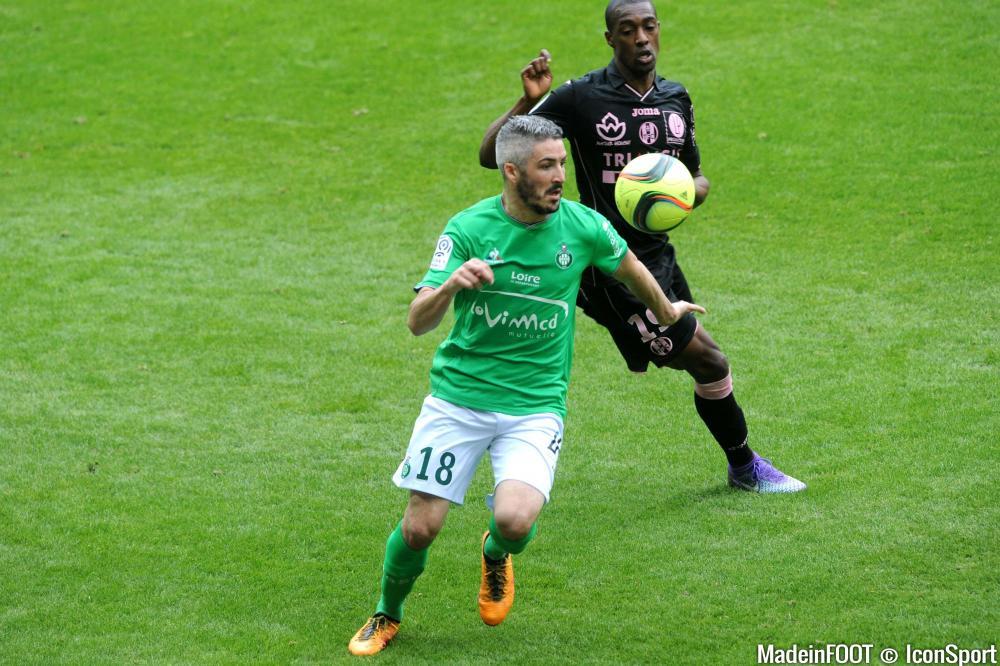Fabien Lemoine est sous contrat avec l'ASSE jusqu'en 2018.