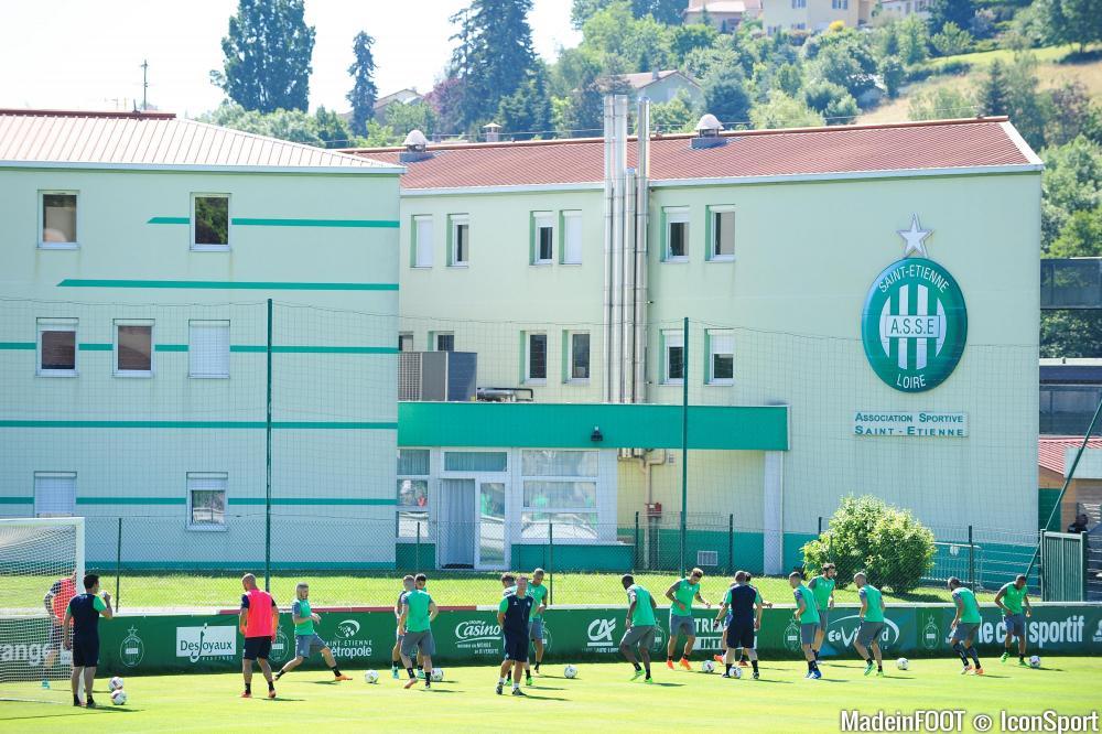 L'Etrat, le centre d'entraînement des Verts, va être rebaptisé.
