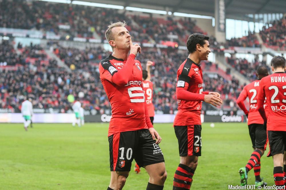 Kamil Grosicki, ici sous les couleurs du Stade Rennais FC.