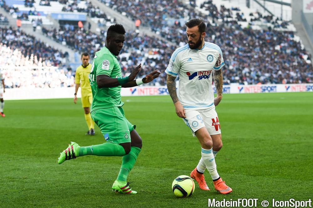 Moustapha Bayal Sall (ASSE) est forfait pour le déplacement à Nice, samedi soir.