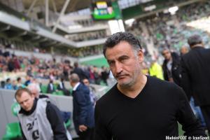 Christophe Galtier et l'ASSE accueillent le FC Nantes, ce dimanche après-midi.