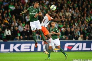 Gabriel Silva, le latéral gauche de l'ASSE, est forfait pour la réception du SCO Angers.
