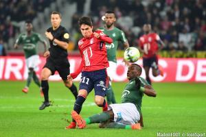 Florentin Pogba, ici sous le maillot de l'AS Saint-Etienne.