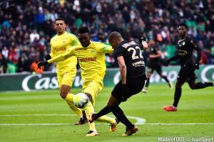 Les compos officielles du match entre le FC Nantes et l'ASSE.
