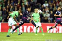 Malcom, Laborde (FCGB) et Malcuit, Theophile Catherine (ASSE)