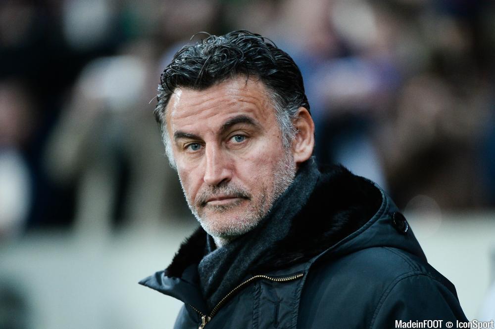 Christophe Galtier fait partie de la liste des coachs pouvant entraîner Anderlecht