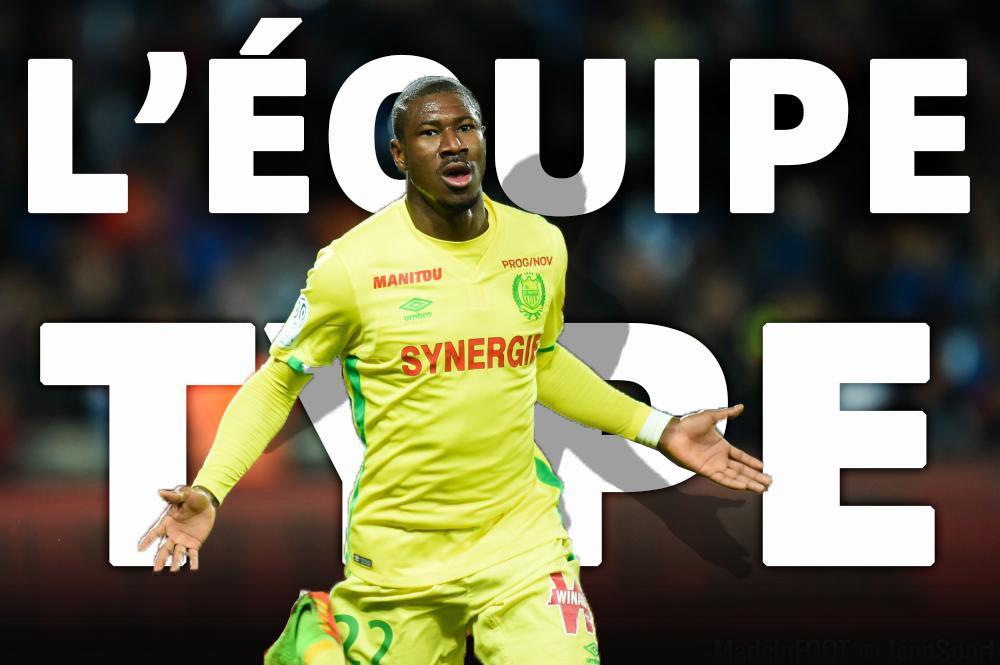 L'équipe-type de la 31e journée de Ligue 1.