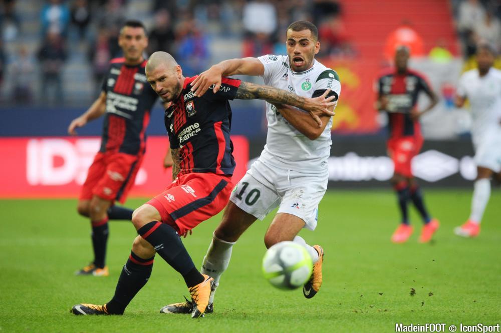 Oussama Tannane a mis fin à son prêt à Las Palmas.