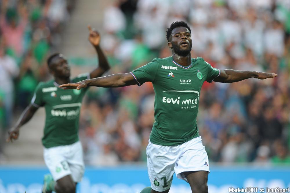Jonathan Bamba négocie une prolongation de contrat à l'ASSE.