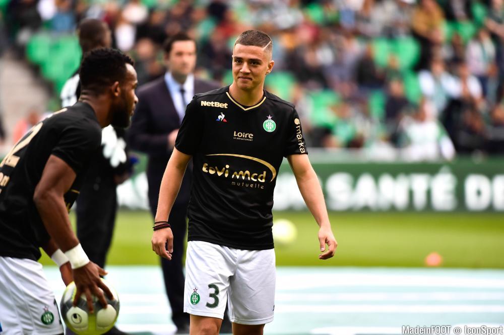 Alexandros Katranis, le défenseur latéral gauche de l'AS Saint-Etienne.