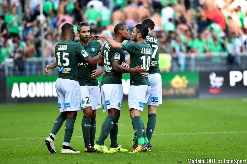 L'ASSE s'est imposée face au FC Metz (3-1), ce samedi soir.