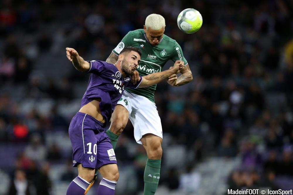 Léo Lacroix et Andy Delort se sont livrés quelques gros duels.