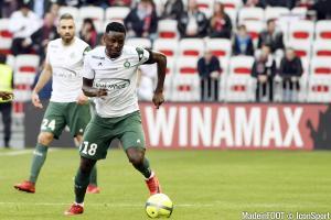 Paul-Georges Ntep (ASSE) est prêté sans option d'achat par le VfL Wolfsburg.