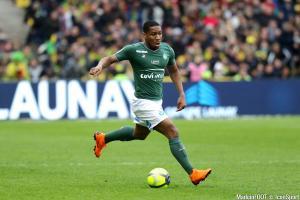 Ronaël Pierre-Gabriel, ici sous les couleurs de l'AS Saint-Etienne.