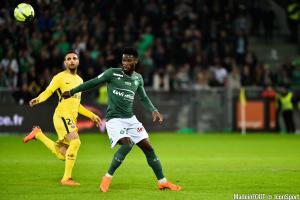 Jonathan Bamba lors du match nul face au PSG