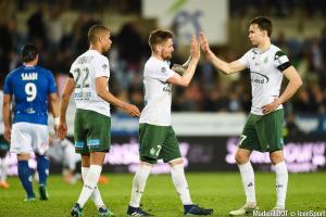 Mathieu Debuchy (ASSE) s'est blessé à la cuisse gauche face à l'Amiens SC, ce dimanche après-midi.