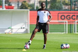 Le groupe de l'OGC Nice pour le match amical face à l'AS Saint-Etienne.