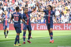 Kylian Mbappé et Neymar ne font pas parie du groupe du PSG pour la réception de l'ASSE.