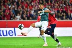 Le défenseur nantais s'est plaint à l'issue du match contre les Verts