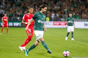 Neven Subotic, le défenseur central de l'AS Saint-Etienne.