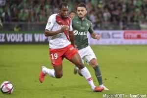 Les compos officielles du match entre l'AS Monaco et l'AS Saint-Etienne.
