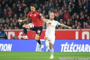José Fonte (Lille OSC) s'est blessé à la cuisse face à l'AS Saint-Etienne.