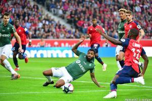 L'album photo du match entre le Lille OSC et l'AS Saint-Etienne.