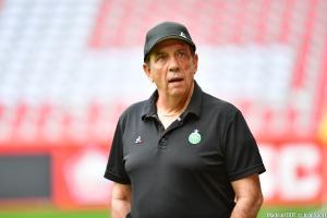 L'entraîneur des Verts a apprécié la performance des siens