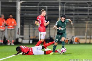 Les compos officielles du match entre l'AS Saint-Etienne et le Nîmes Olympique.