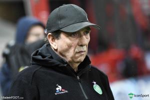 Jean-Louis Gasset et les Verts ont obtenu une victoire difficile.