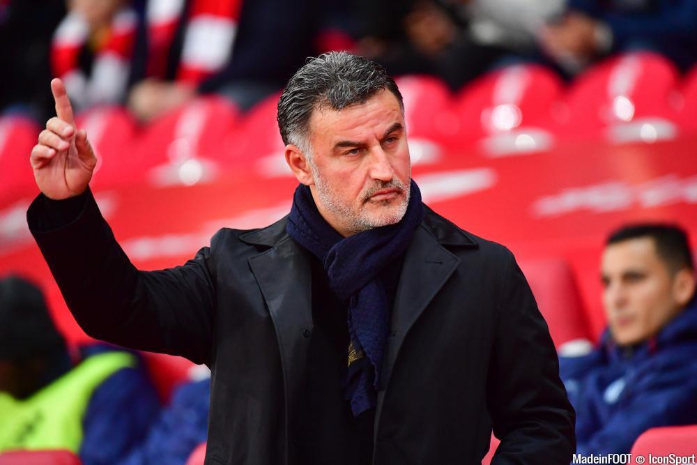 Christophe Galtier, l'entraîneur du Lille OSC.