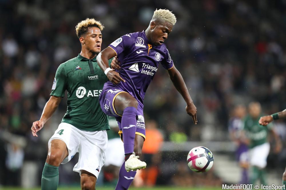 Les compos officielles du match entre l'AS Saint-Etienne et le Toulouse FC.